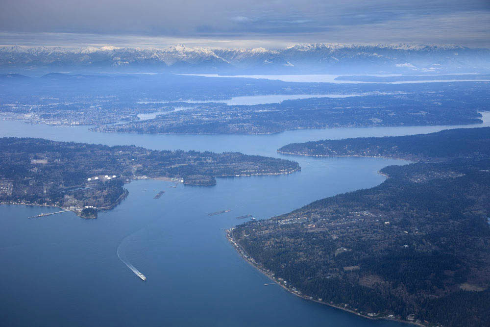 Aerial view of puget sound geology marli miller see more images of puget sound then type puget sound sciox Choice Image