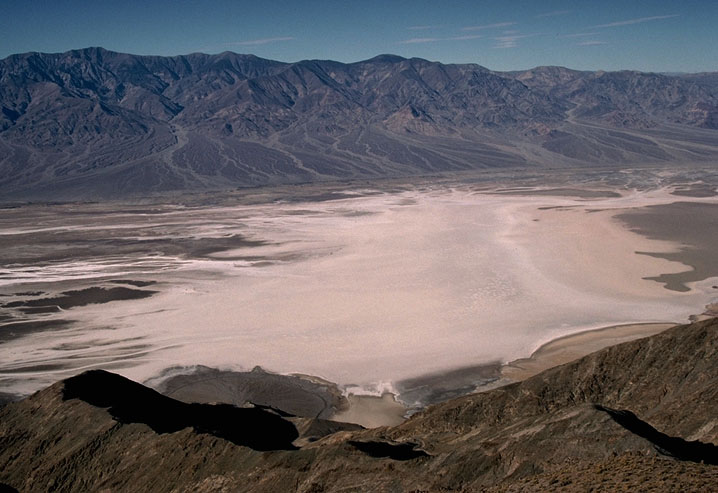 Death Valley salt pan