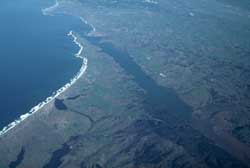 Aerial view of SAF at Pt. Reyes