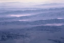 parallel ranges of the Basin and Range, Nevada